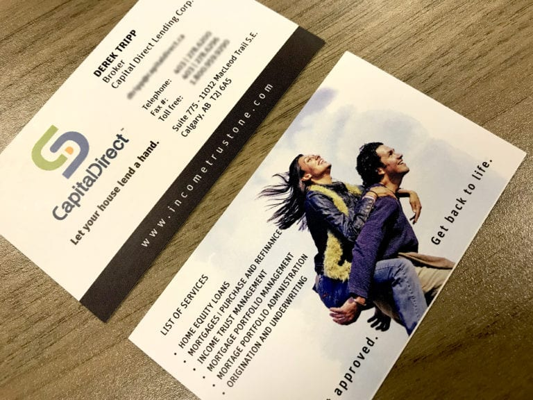 Business Cards Printing Capital Direct
