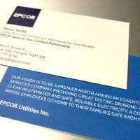 business card print for Epcore